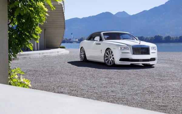 Véhicules Rolls-Royce Dawn Rolls Royce Rolls-Royce White Car Voiture Luxury Car Fond d'écran HD   Image