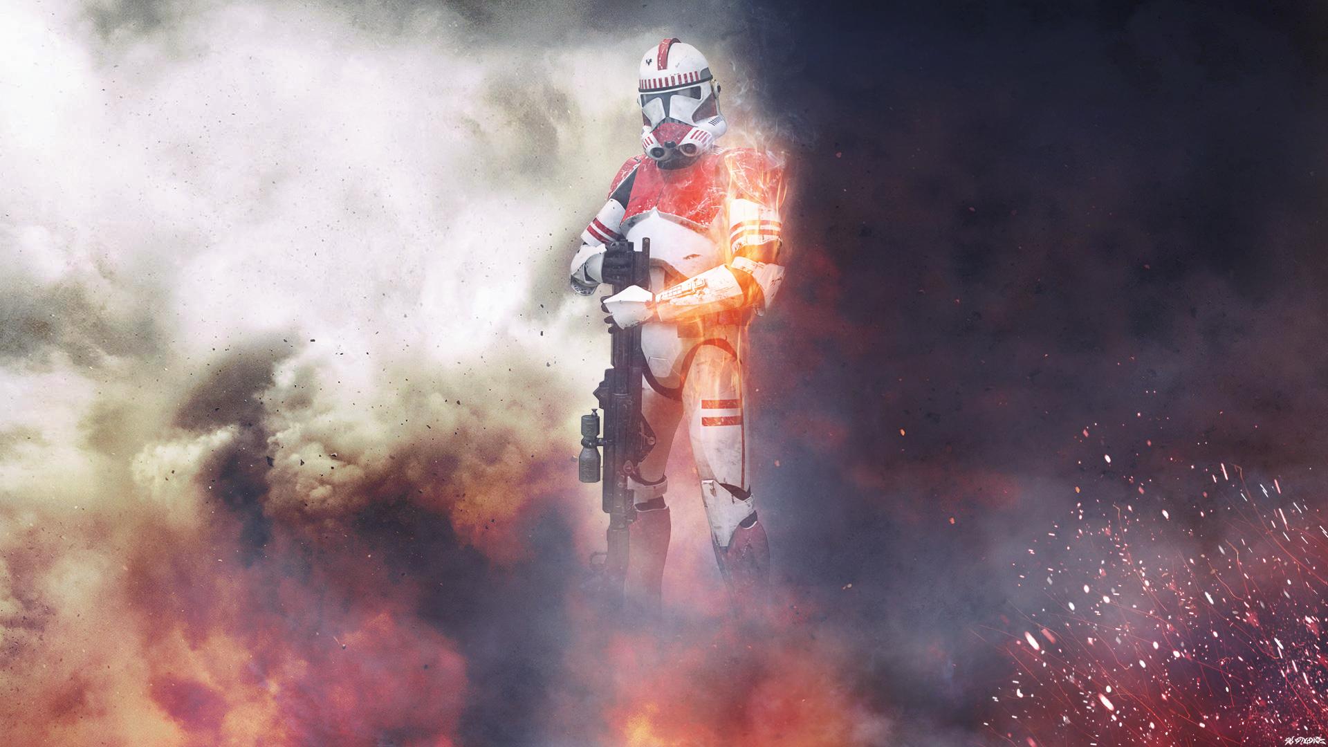 BattleFRONT 1 Shock Trooper HD Wallpaper   Background ...
