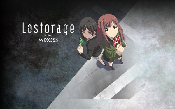 Anime WIXOSS Suzuko Homura Chinatsu Morikawa Lil Ril HD Wallpaper   Background Image