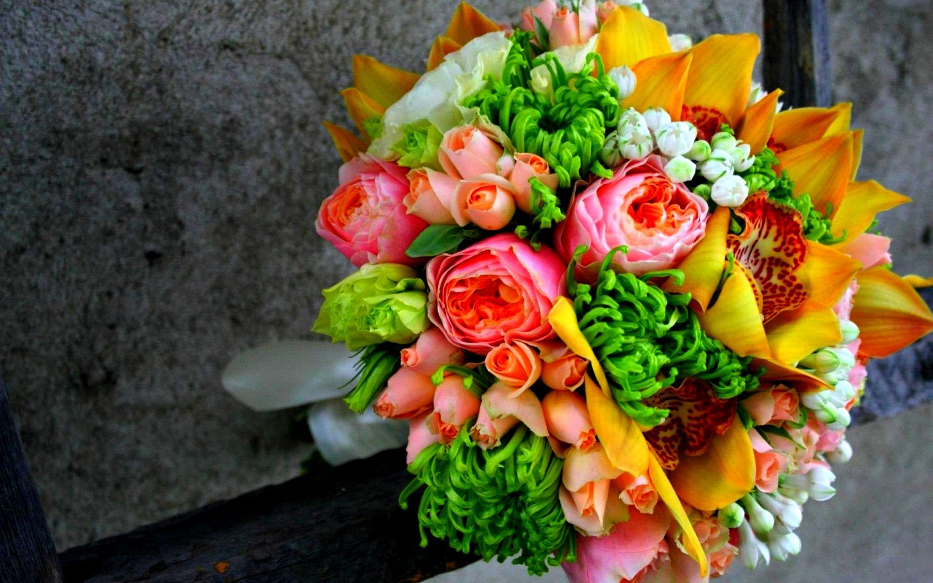 Flower Bouquet Full HD Wallpaper and Background Image | 1920x1200 ...