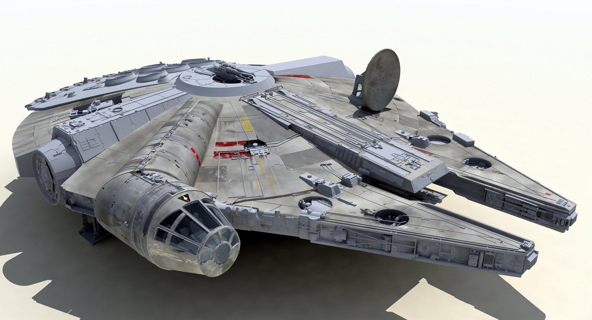 Sci Fi - Star Wars  Millennium Falcon Wallpaper