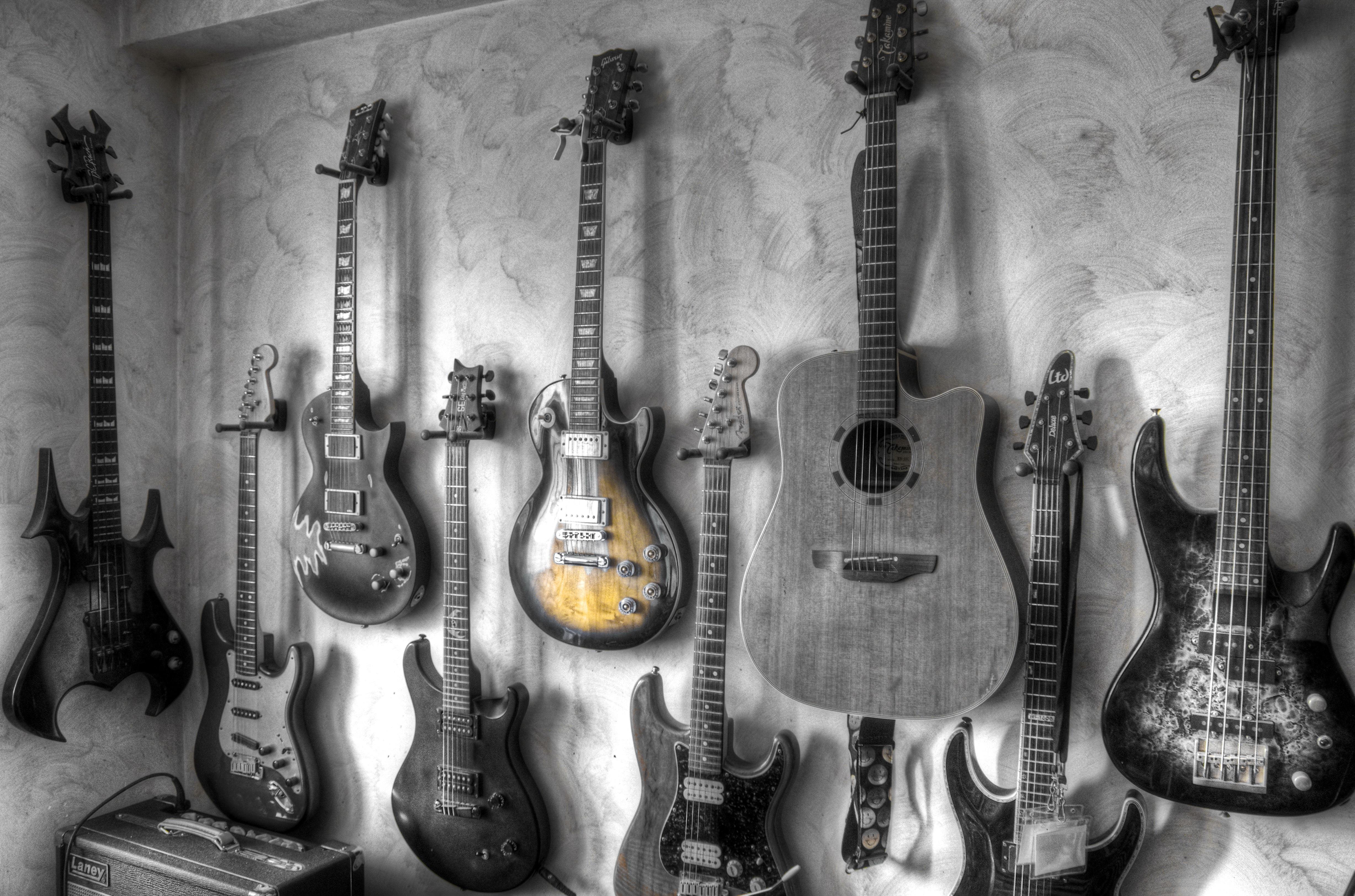 Guitar 4k Ultra HD Wallpaper