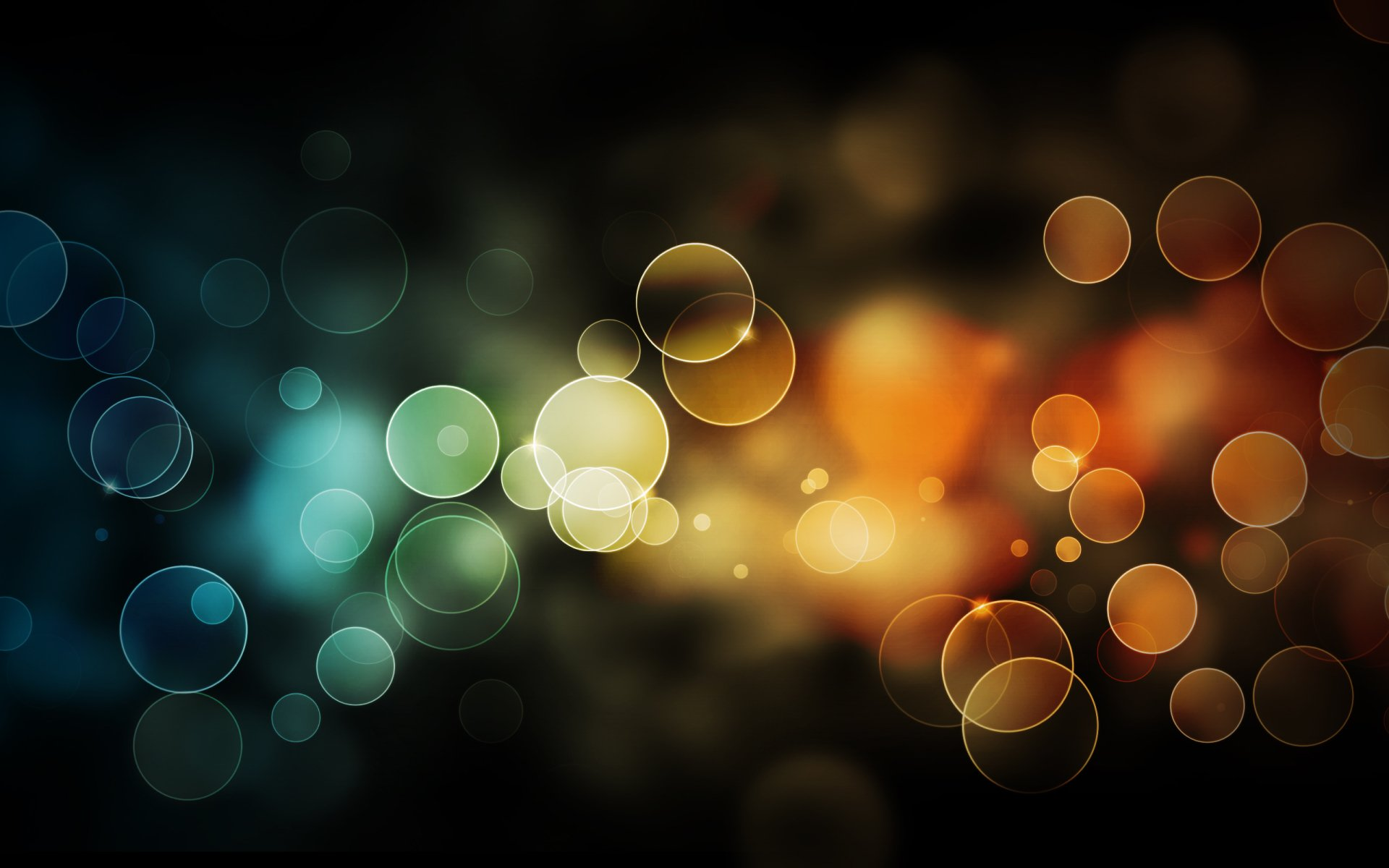 Artistic - Bokeh  Circle Artistic Blur Colors Wallpaper