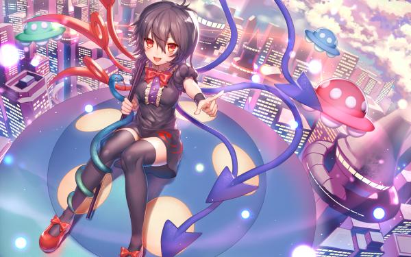 Anime Touhou Nue Houjuu HD Wallpaper   Background Image