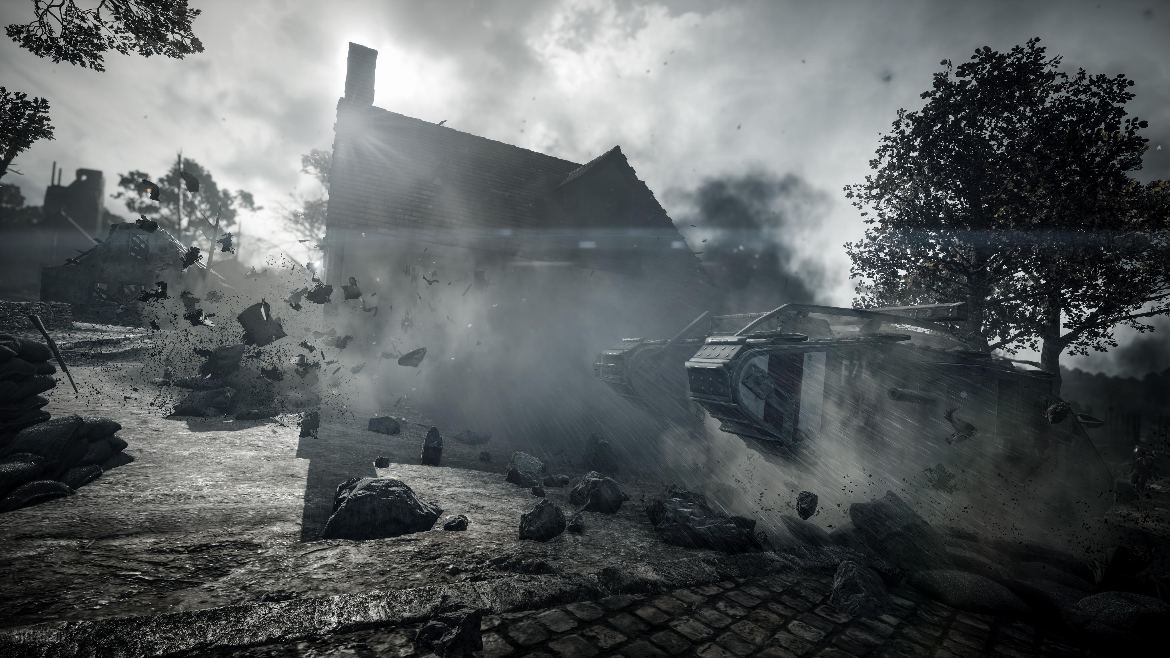 Battlefield 4 Full Hd Fond D écran And Arrière Plan: Battlefield 1 / Through The Debris 4k Ultra Fond D'écran