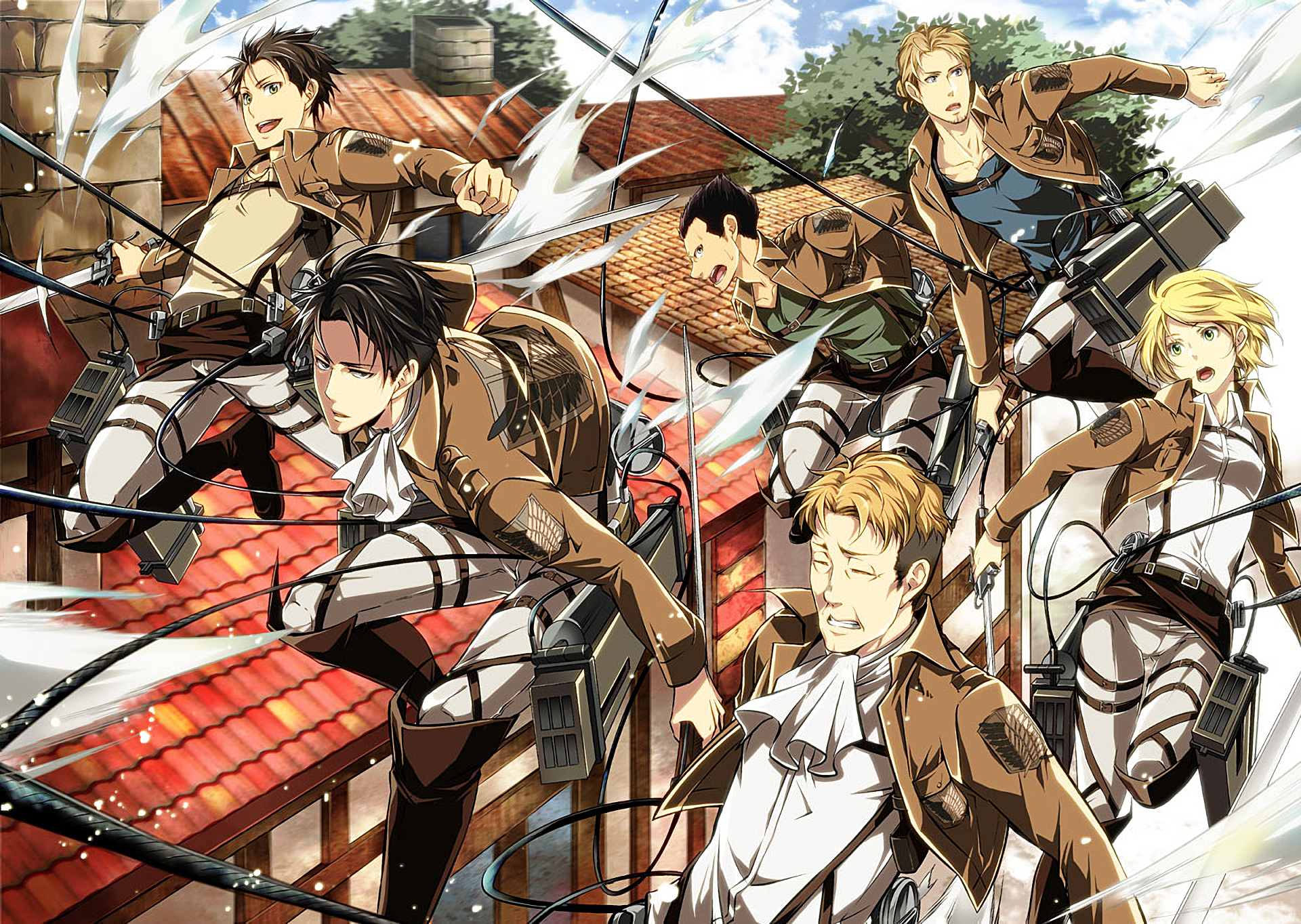 Attack On Titan Hd Wallpaper Background Image 1920x1364 Id 753307 Wallpaper Abyss