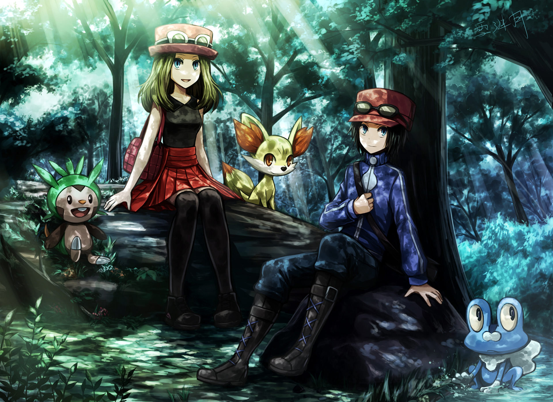 Pokemon X And Y Hd Wallpaper Background Image 1920x1396 Id