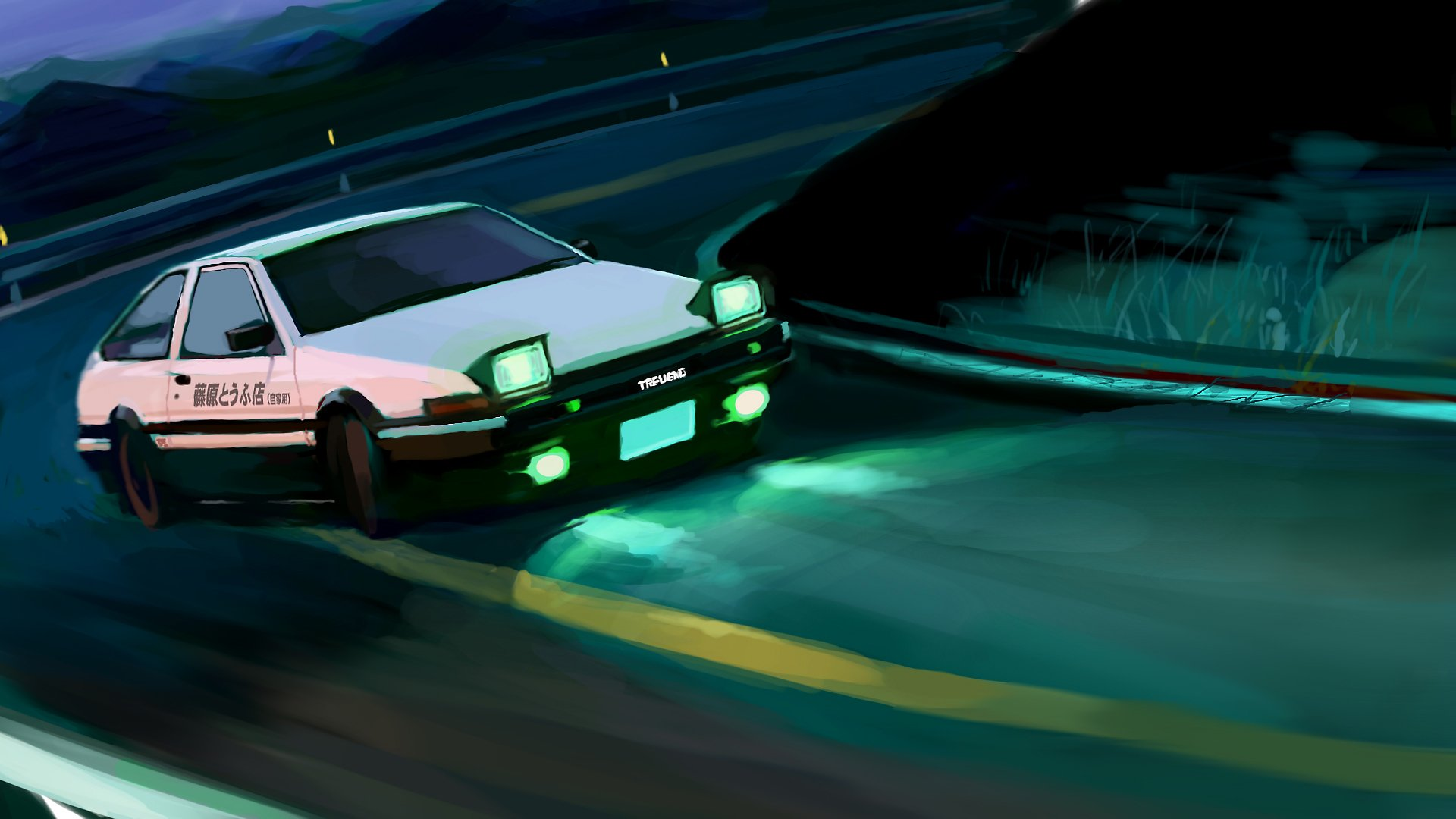 Initial d final stage hd wallpaper background image - Ae86 initial d wallpaper ...
