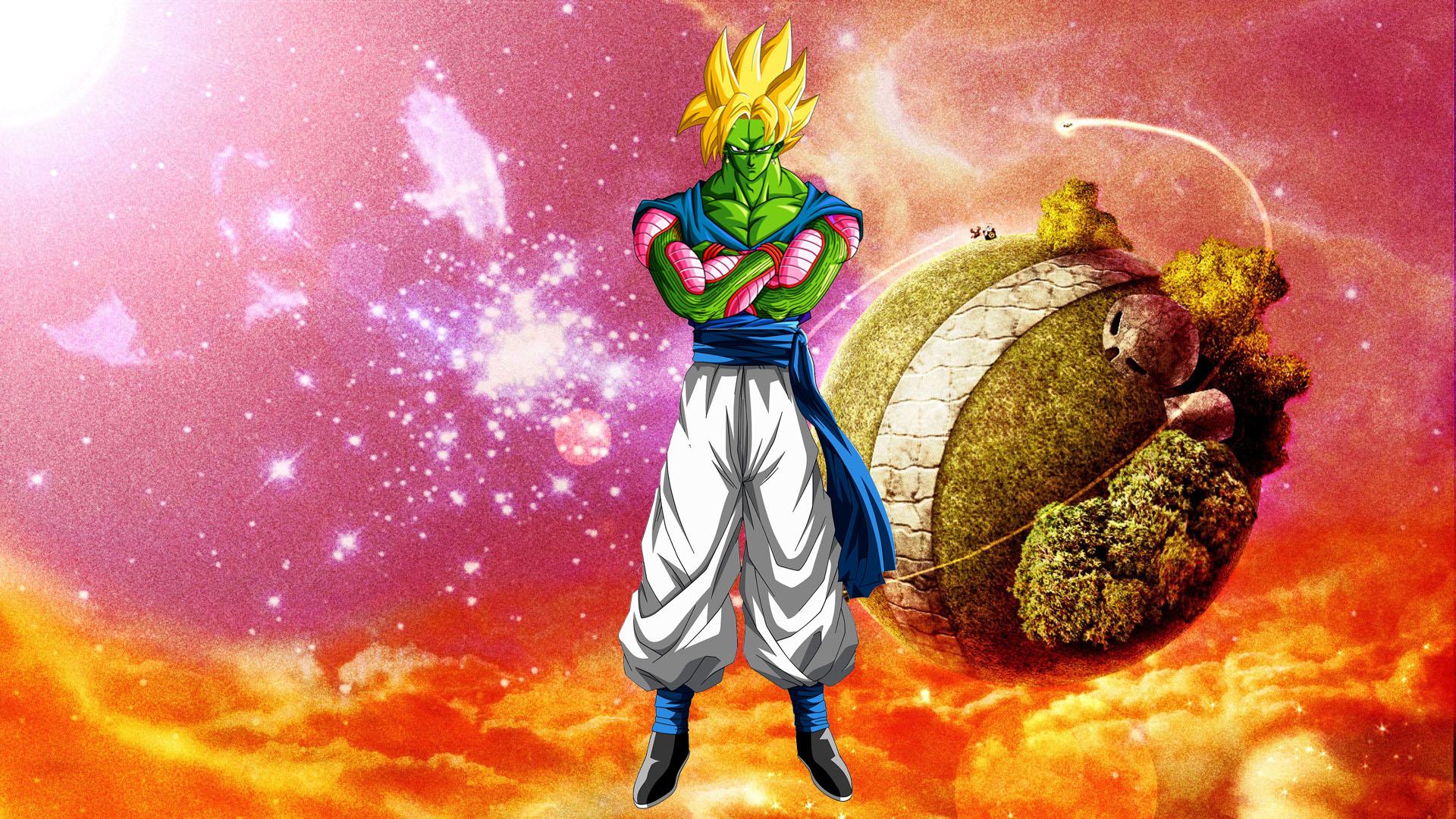 Dragonball Goku Piccolo Fusion Full HD Wallpaper And Background