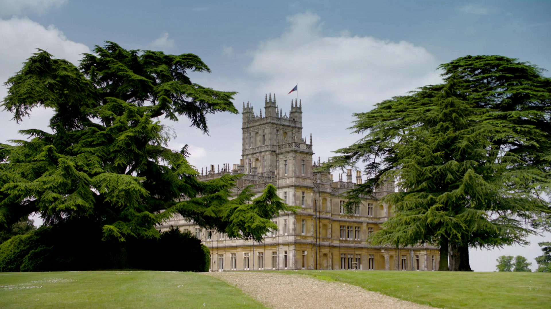 Downton abbey estate full hd fond d 39 cran and arri re plan 1920x1080 - Chateau downton abbey ...