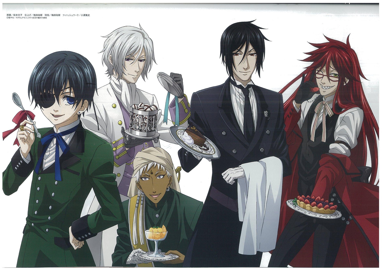 Black Butler HD Wallpaper