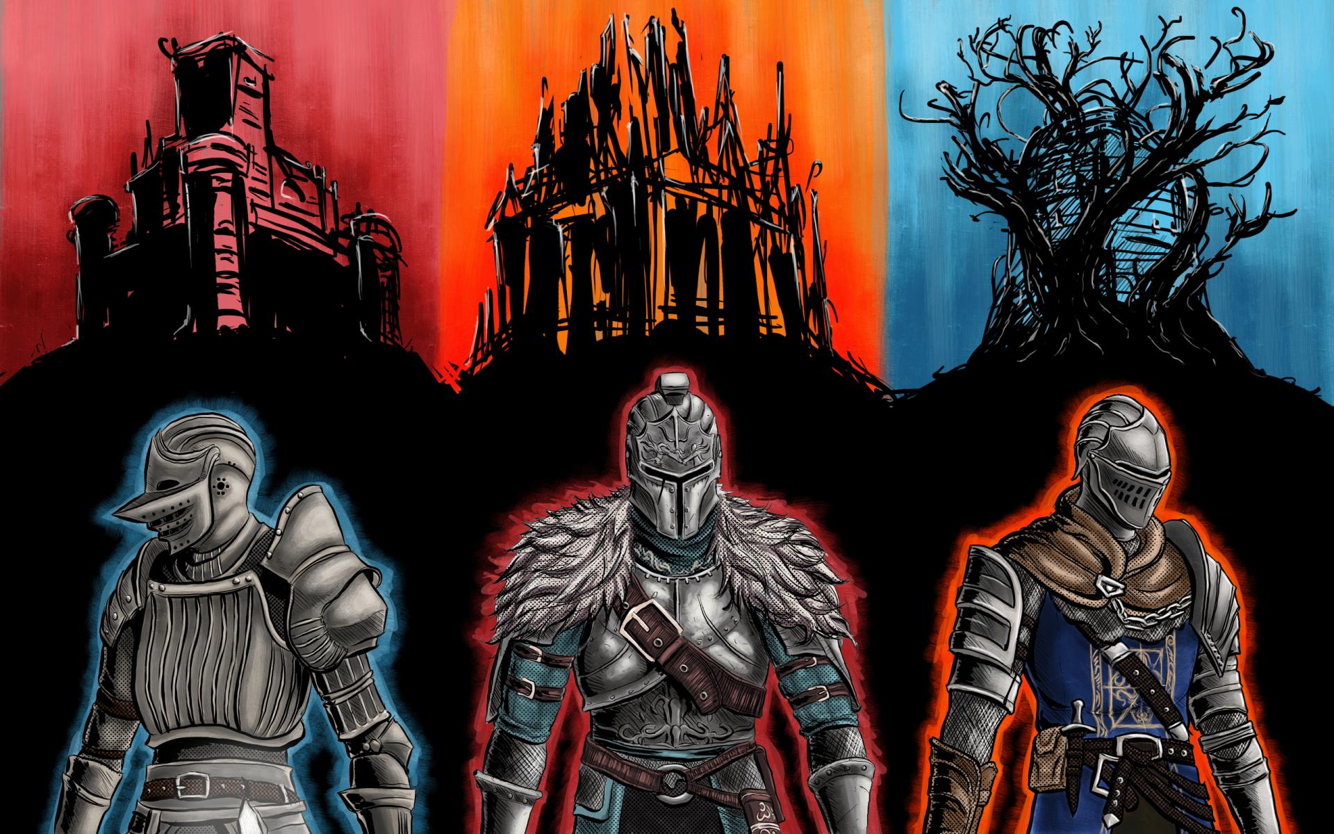 Video Game - Dark Souls  Dark Souls II Dark Souls III Wallpaper