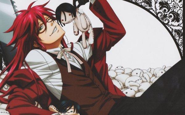 Anime Black Butler Grell Sutcliff HD Wallpaper | Background Image