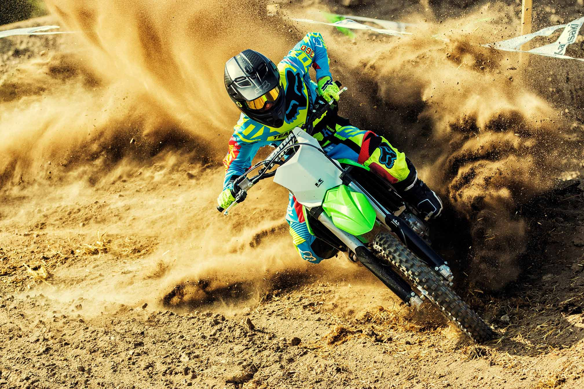 2017 Kawasaki Kx450f Hd Wallpaper Background Image 2017x1345