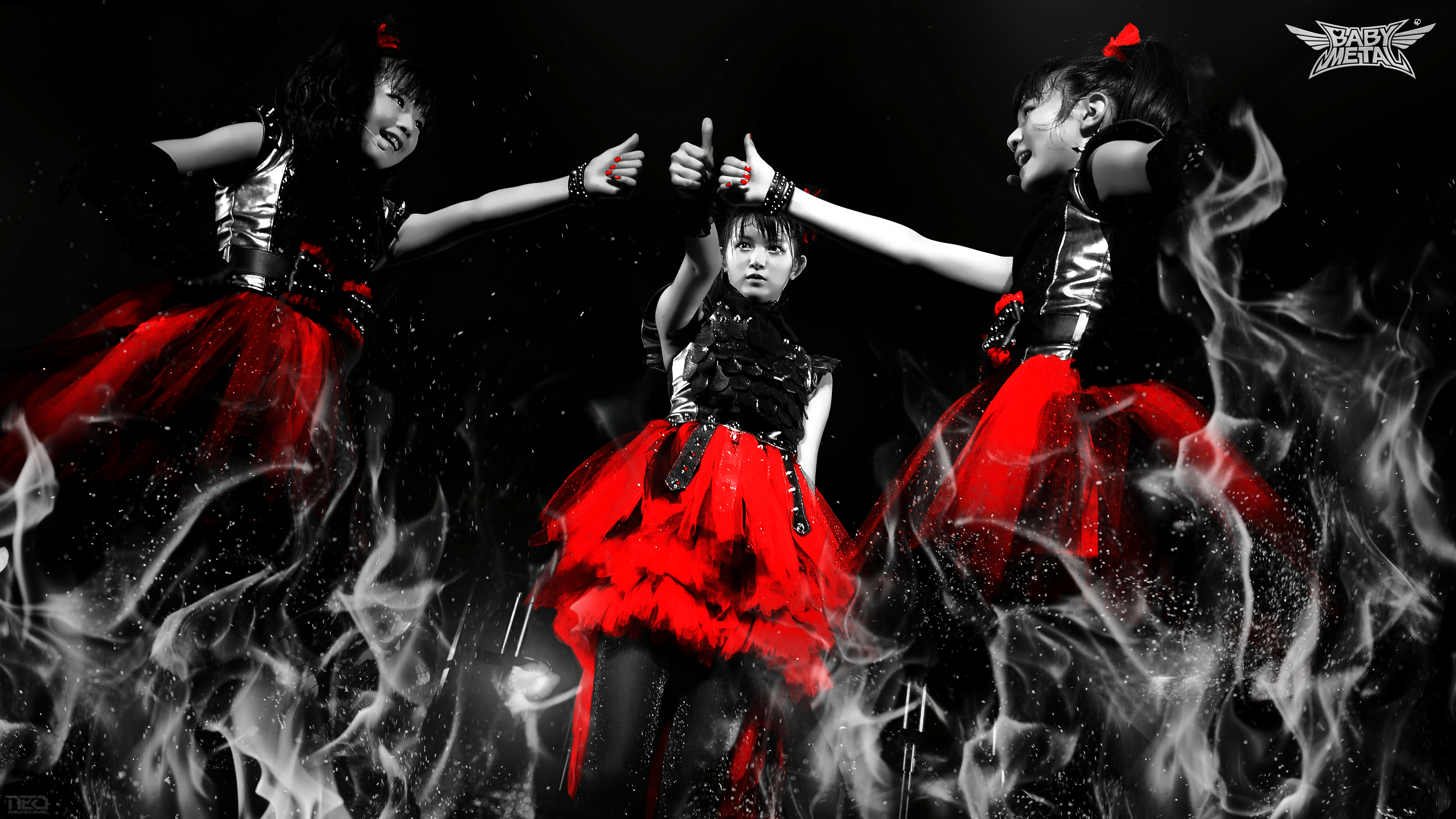Babymetal 4K Ultra Hd Wallpaper  Background Image  3840X2160  Id760619 - Wallpaper -2013