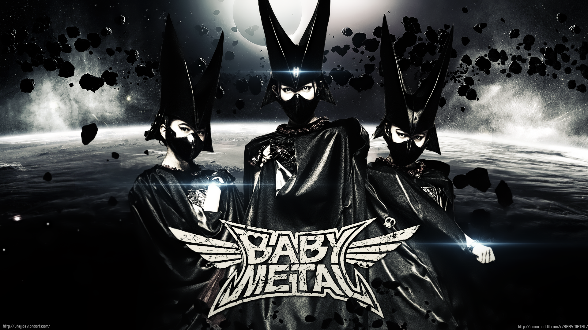 Babymetal Hd Wallpaper Background Image 1920x1080 Id 760614
