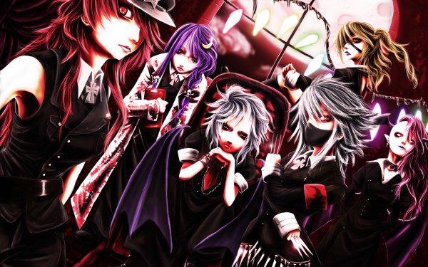 Anime Touhou Hong Meiling Patchouli Knowledge Koakuma Flandre Scarlet Remilia Scarlet Sakuya Izayoi HD Wallpaper | Background Image