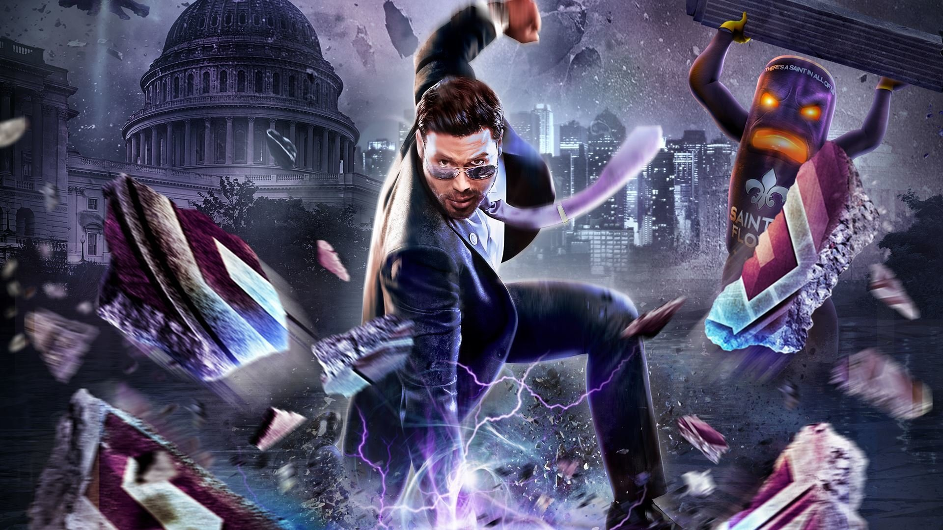Saints Row Iv Re Elected Fondo De Pantalla Hd Fondo De