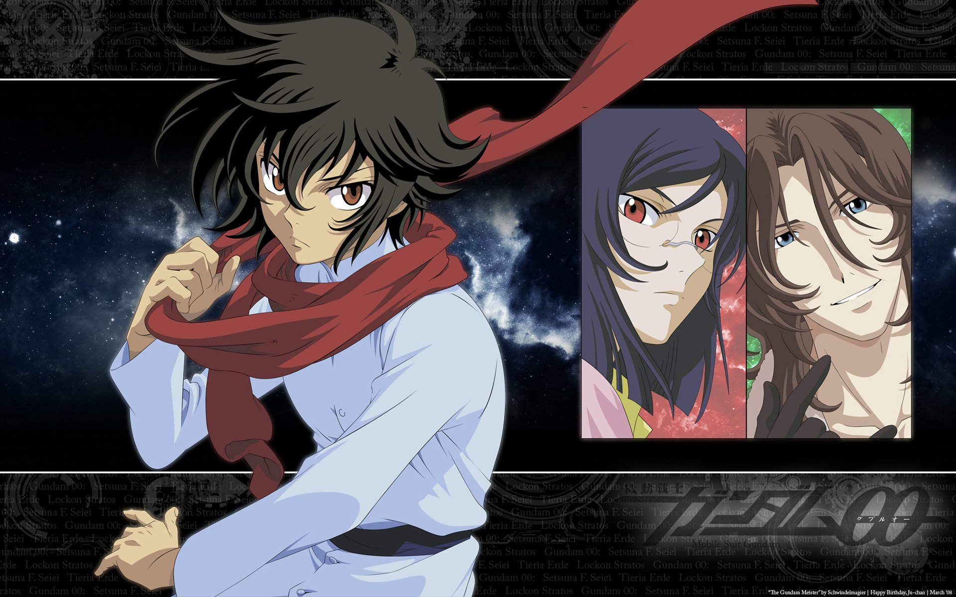 Mobile Suit Gundam 00 Hd Wallpaper Background Image 1920x1200 Id 765321 Wallpaper Abyss