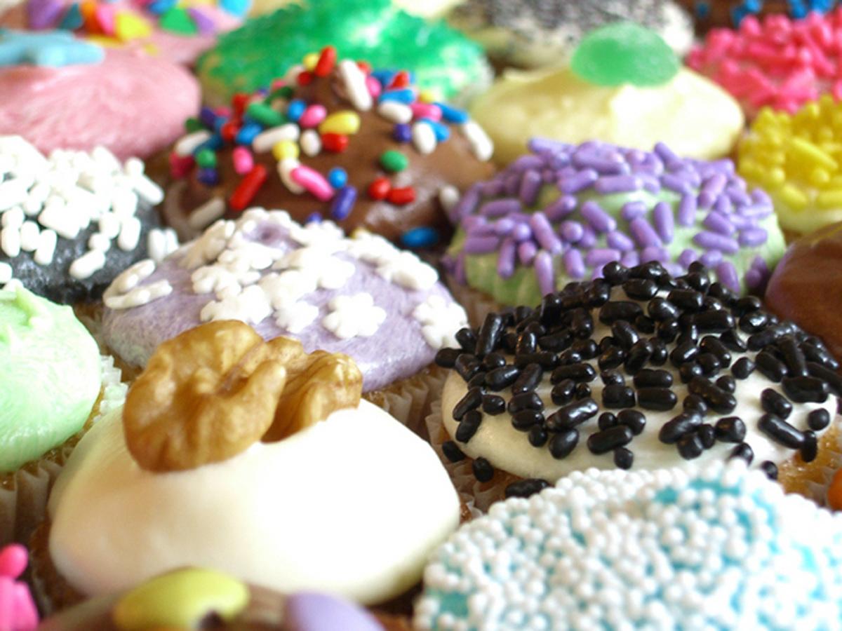 Alimento - Cupcake  Sfondo