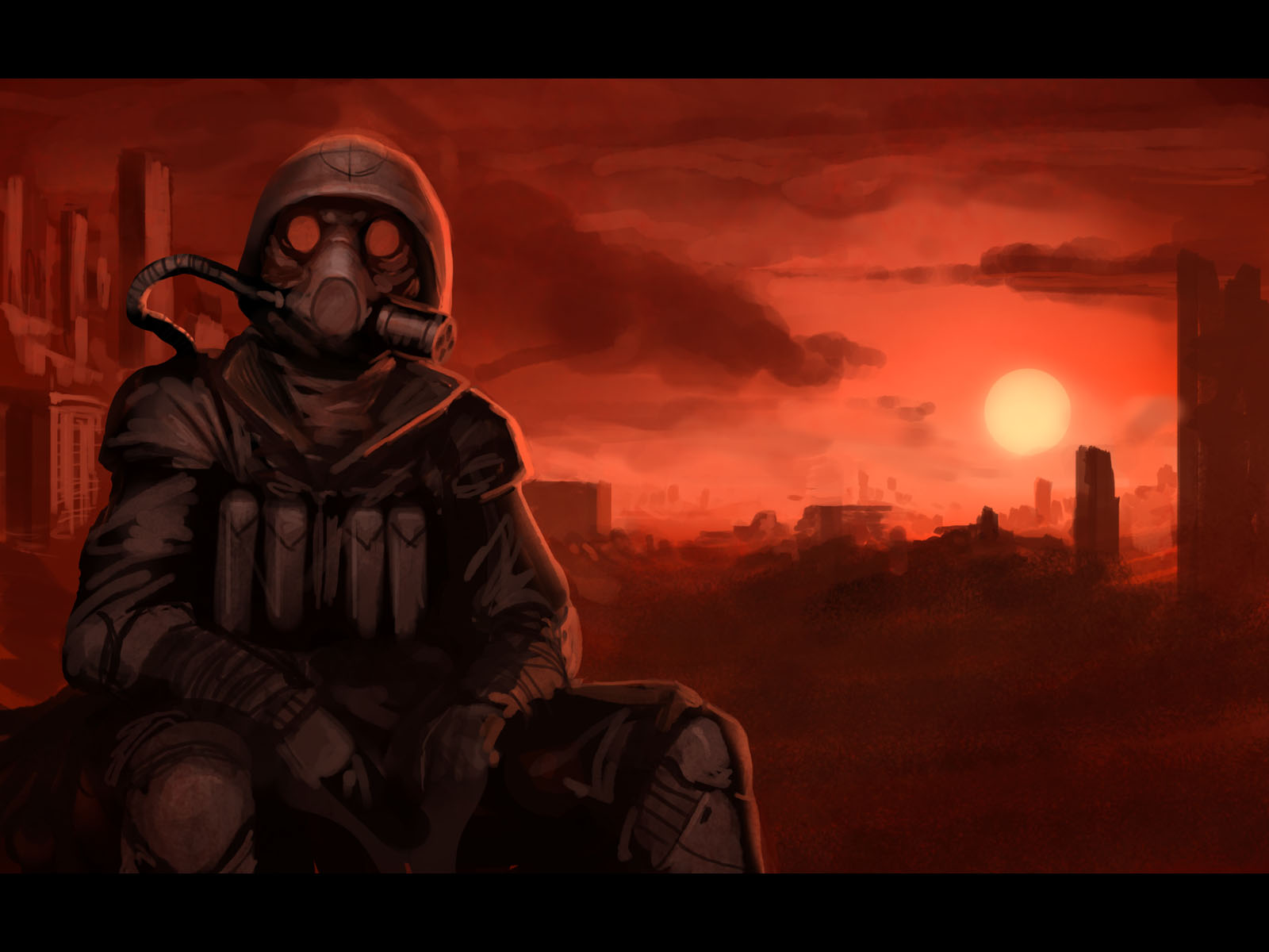 Sci Fi Fuel : Gas mask wallpaper and background image id
