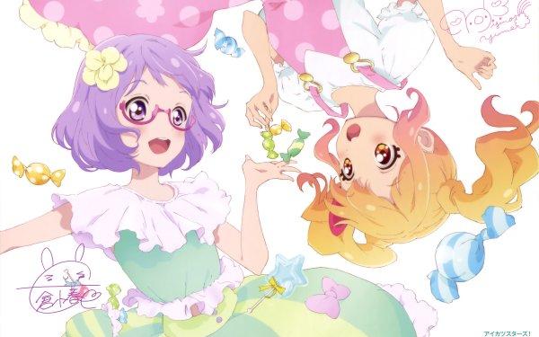 Anime Aikatsu! Koharu Nanakura Yume Nijino HD Wallpaper   Background Image