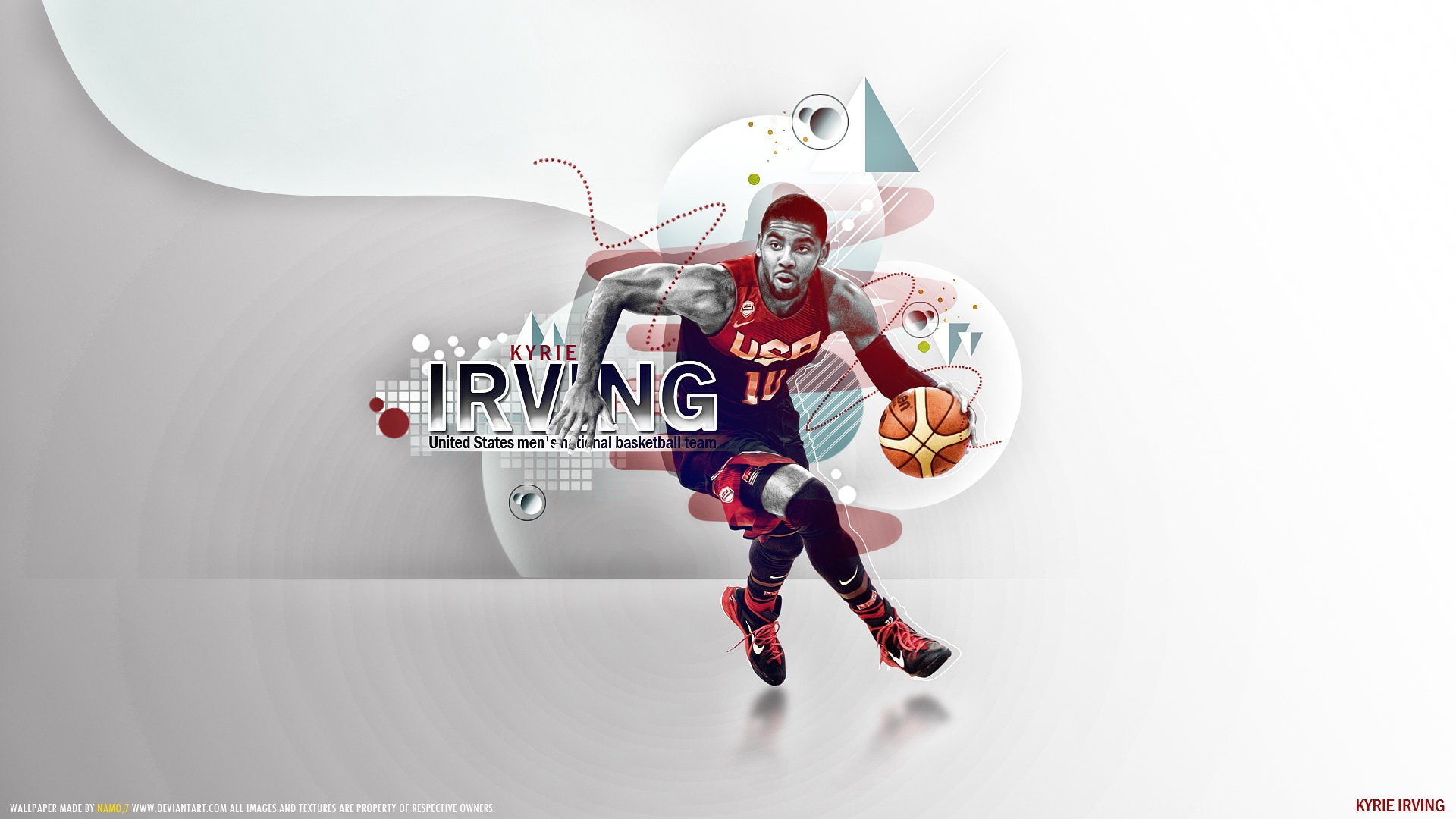 Kyrie Irving HD Wallpaper | Background Image | 1920x1080 ...