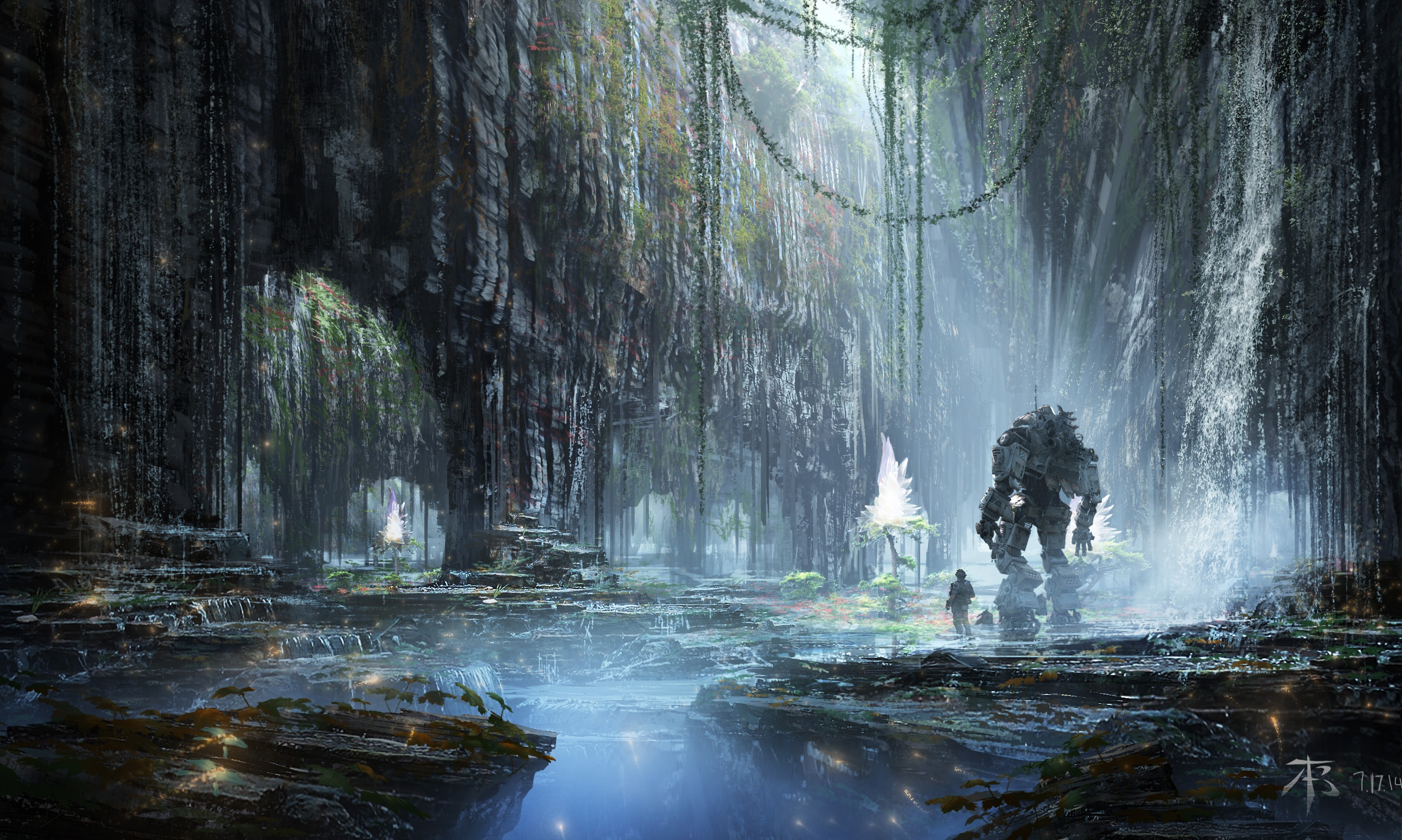 Titanfall 2 hd wallpaper background image 2677x1604 - Epic titanfall 2 wallpapers ...