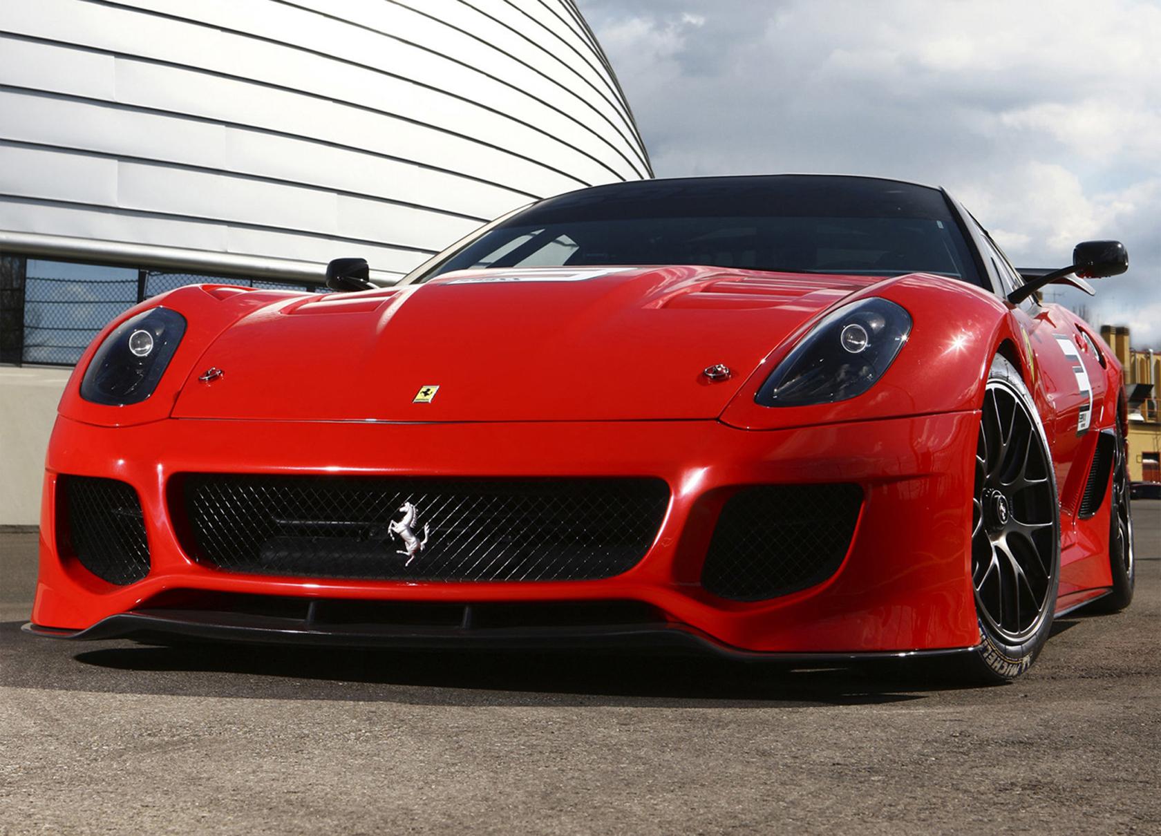 Vehículos - Ferrari  Fondo de Pantalla