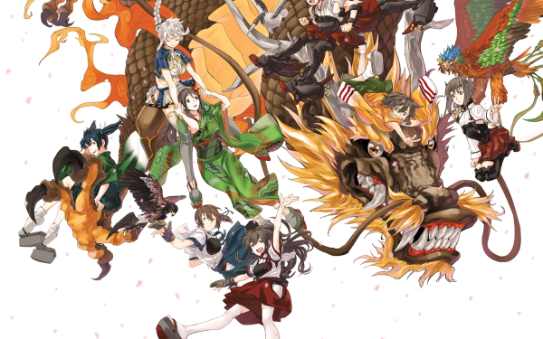 Anime Kantai Collection Unryuu Amagi Shoukaku Zuikaku Akagi Kaga HD Wallpaper | Background Image