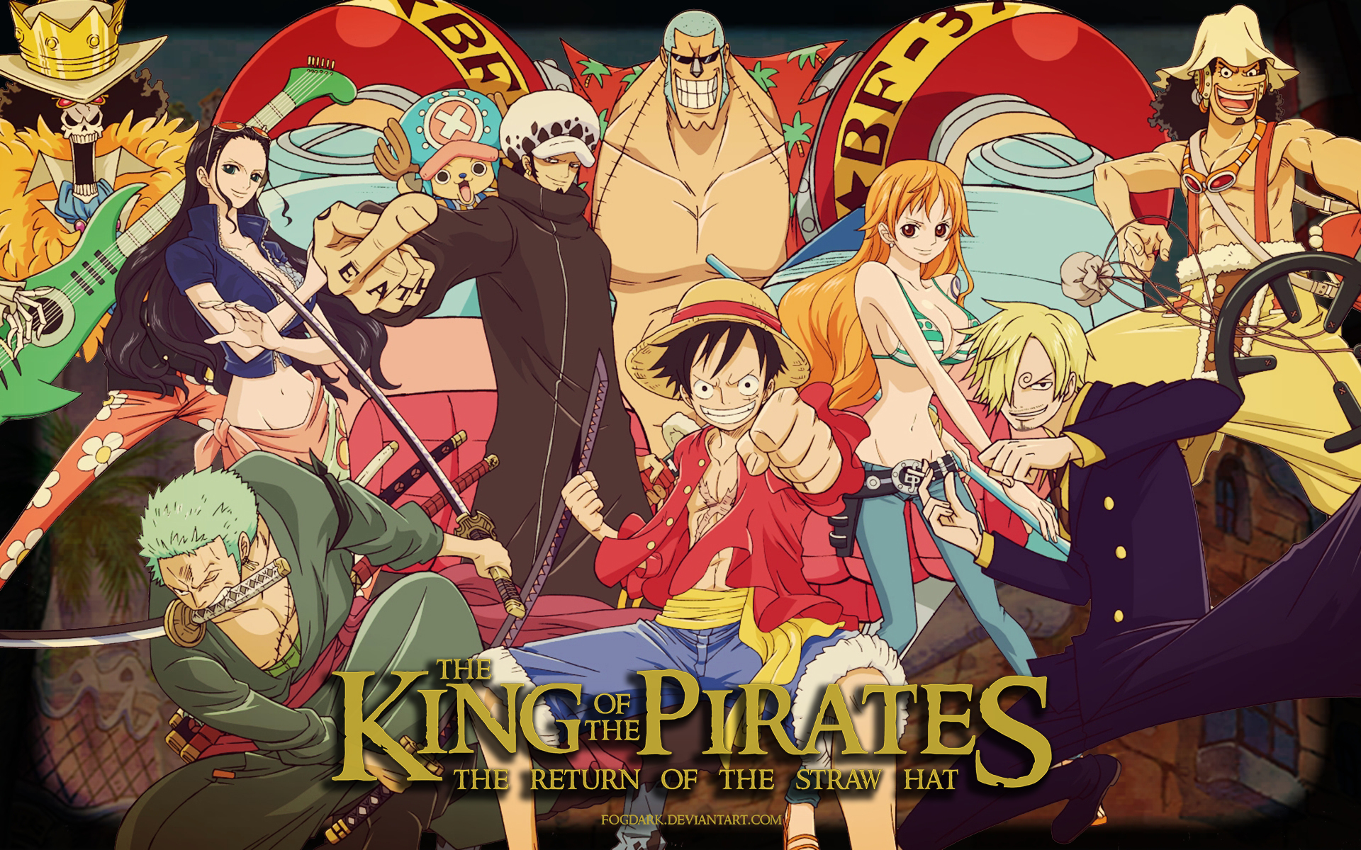 One Piece HD Wallpaper | Background Image | 1920x1200 | ID:774842 - Wallpaper Abyss