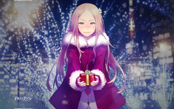 Anime Guilty Crown Mana Ouma Christmas HD Wallpaper | Background Image