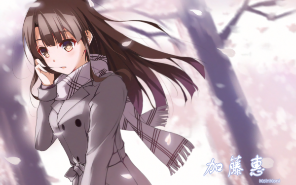 Anime Saenai Heroine no Sodatekata Megumi Katō Fond d'écran HD | Arrière-Plan