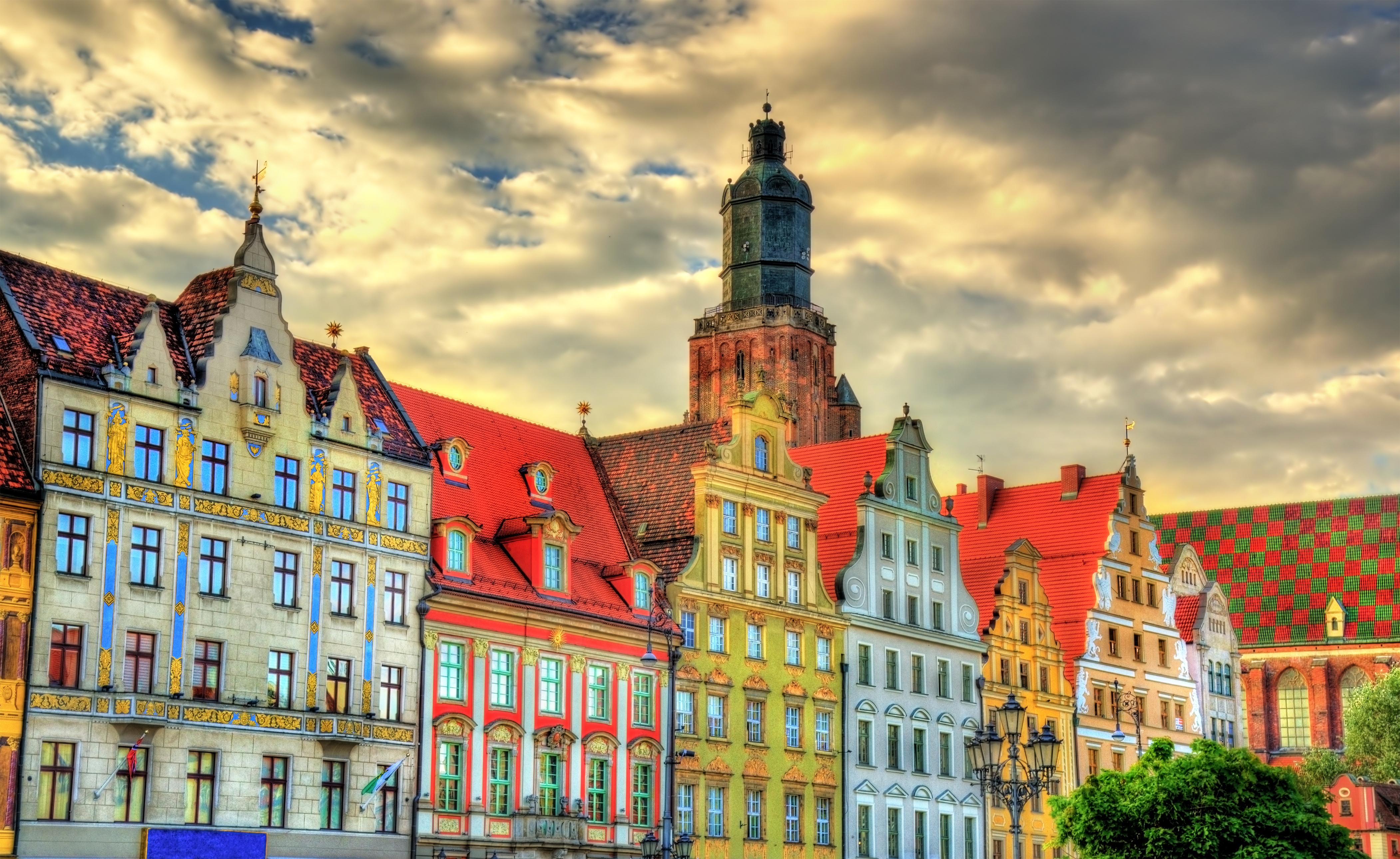 buildings colorful wallpaper - photo #3