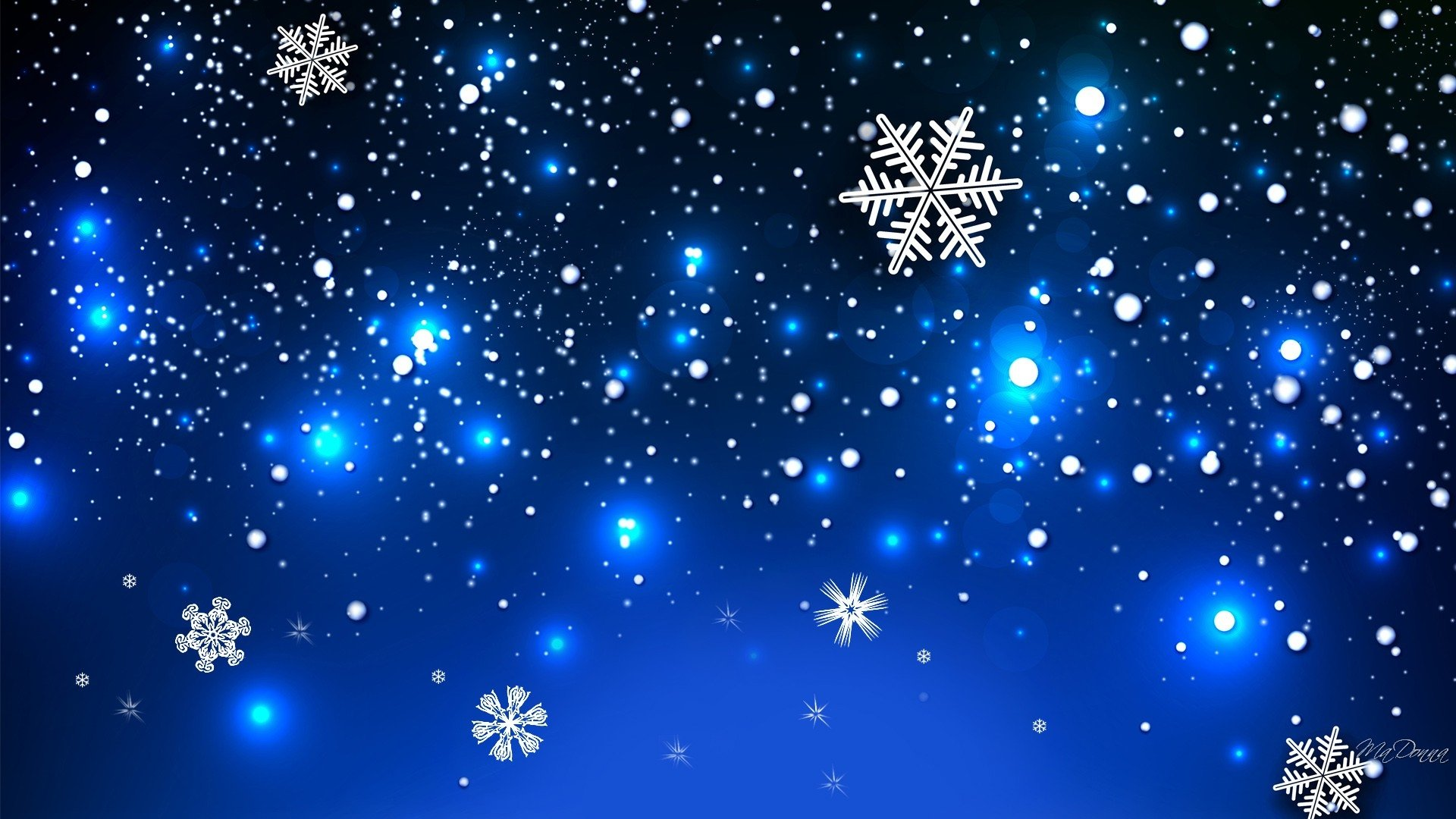 Snowflakes full hd wallpaper and background image