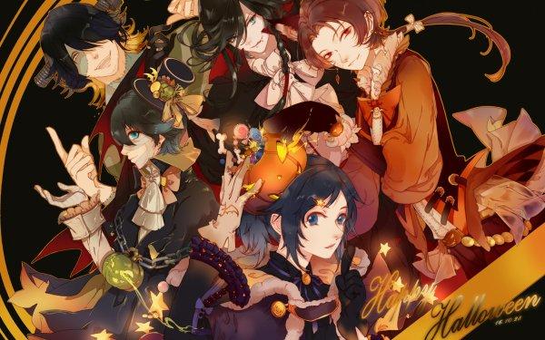 Anime Touken Ranbu Horikawa Kunihiro Izumi no Kami Kanesada Kashuu Kiyomitsu Nagasone Kotetsu Yamato no Kami Yasusada HD Wallpaper | Background Image