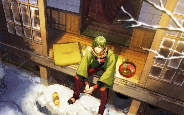 Anime Touken Ranbu Uguisumaru HD Wallpaper   Background Image