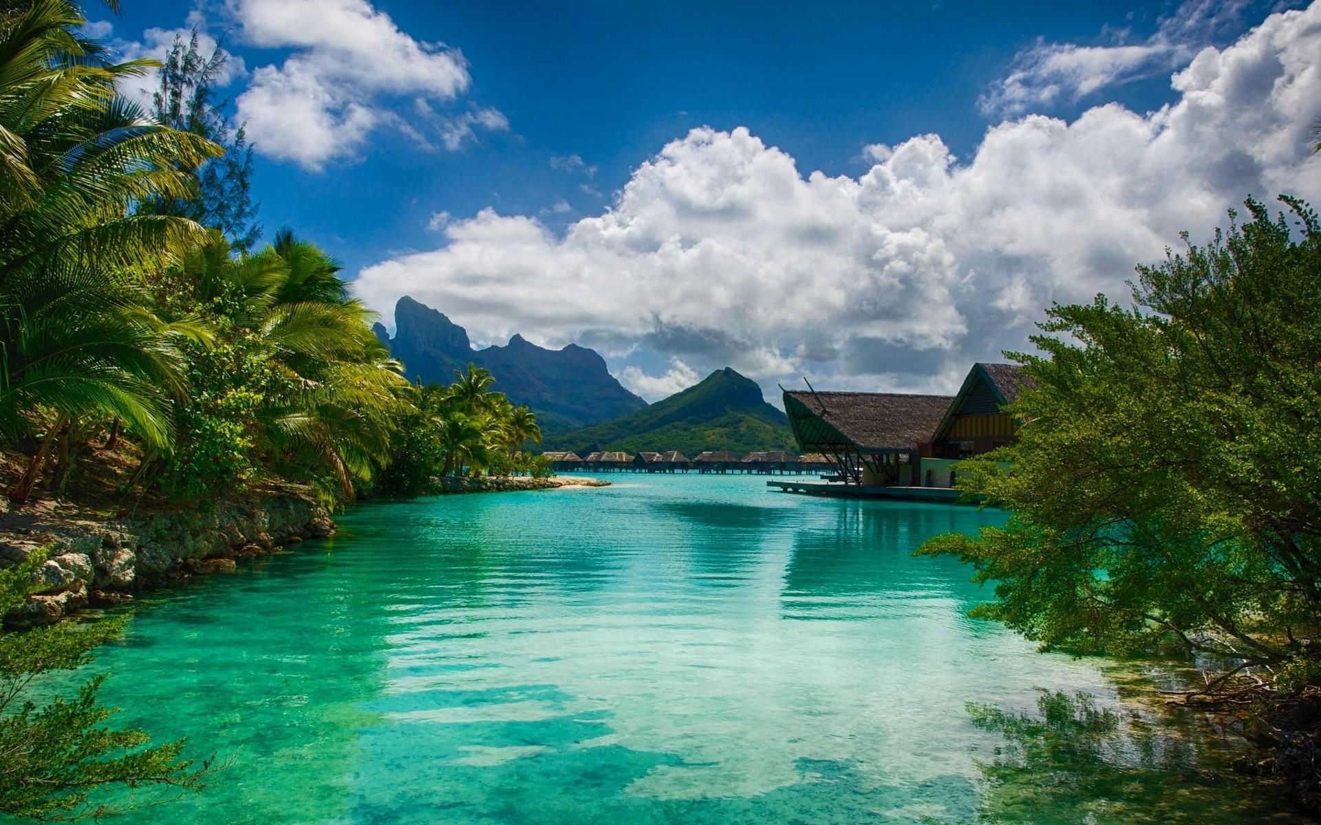 Tropical Resort Fond d'écran HD | Arrière-Plan | 1920x1200 | ID:778277 - Wallpaper Abyss