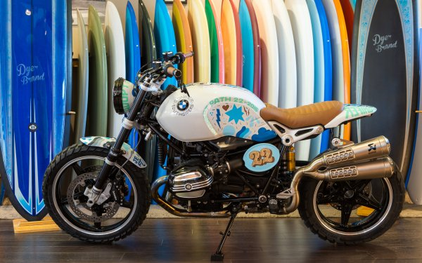 Vehicles BMW Motorcycle Surfboard HD Wallpaper   Background Image