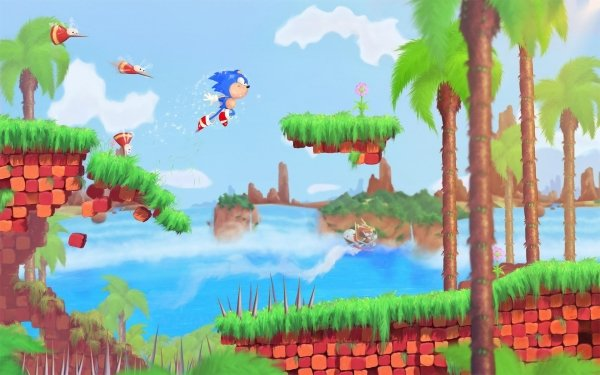 Video Game Sonic CD Sonic HD Wallpaper   Background Image