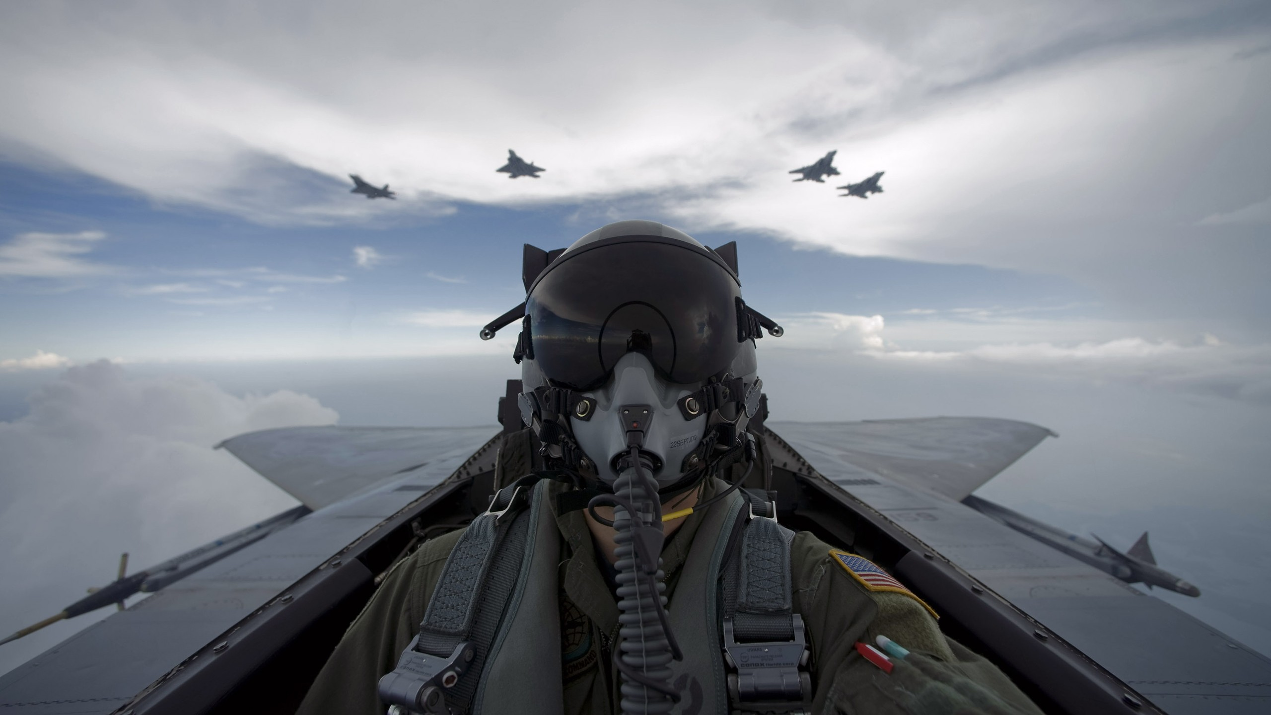 Aircraft Military Pilot Hd Wallpaper Background Image