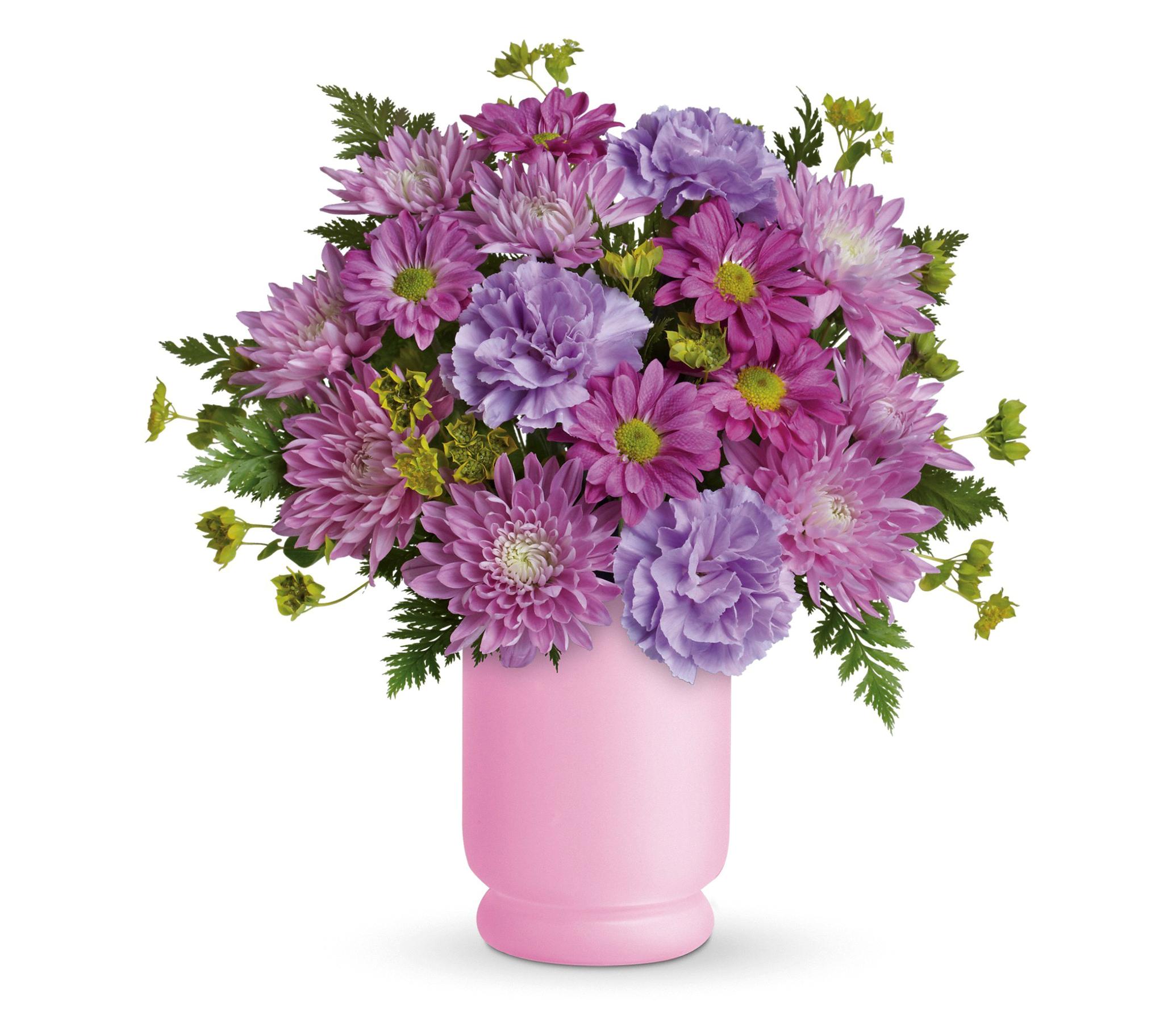 Purple Flower Bouquet HD Wallpaper | Background Image