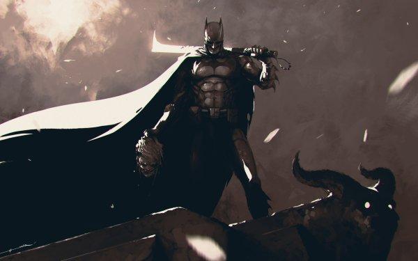 Comics Batman Dark Sword HD Wallpaper   Background Image
