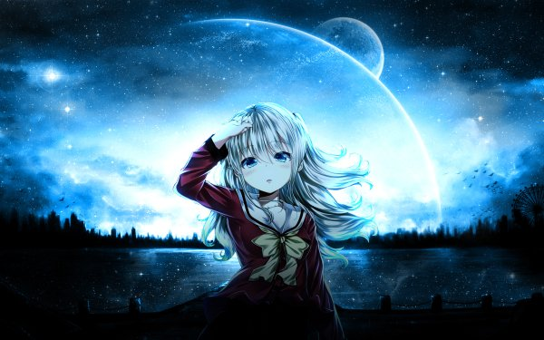 Anime Charlotte Nao Tomori HD Wallpaper | Background Image