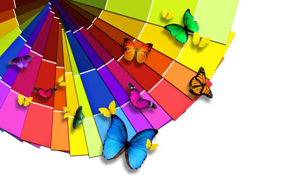 Künstlerisch Farben Colorful Regenbogen HD Wallpaper | Hintergrund