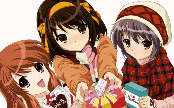 Anime The Melancholy Of Haruhi Suzumiya HD Wallpaper | Background Image