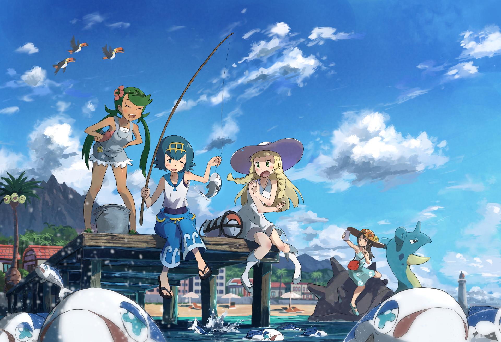 Pokemon Sun And Moon Hd Wallpaper Background Image 1920x1312
