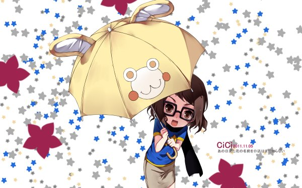 Anime Anohana Naruko Anjou HD Wallpaper   Background Image