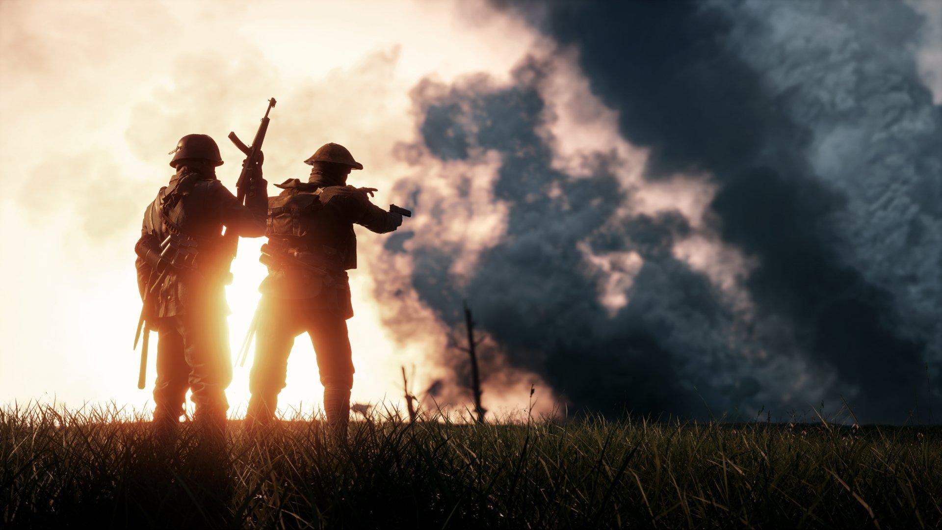 Battlefield 1 War Video Game Hd Wallpaper: Battlefield 1 HD Wallpaper