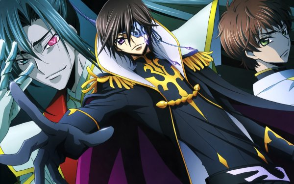 Anime Code Geass Shin Hyuga Shaing Julius Kingsley Suzaku Kururugi Code Geass: Akito the Exiled HD Wallpaper | Background Image